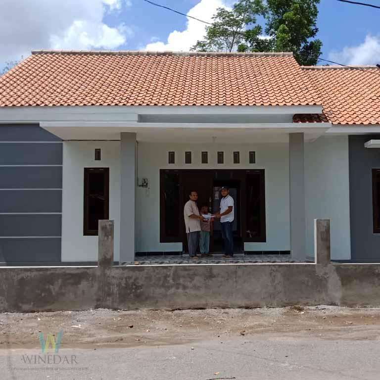 Rumah 1 Lantai Cipta Arsita Winedar Kontraktor Jogja