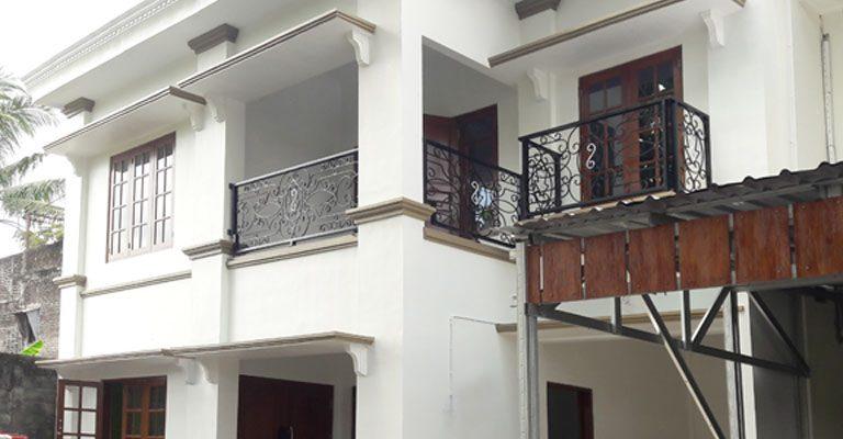Selesai Pembangunan Rumah Desain Klasik 2 Lantai Cipta Arsita Winedar Kontraktor Jogja