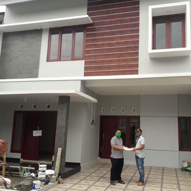 Serah Terima Rumah 2 Lantai Cipta Arsita Winedar Kontraktor Jogja