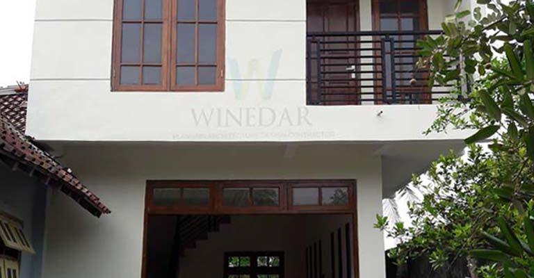 Rumah 2 Lantai di Lahan Efektifitas Lahan di Jogja Cipta Arsita Winedar Kontraktor Jogja