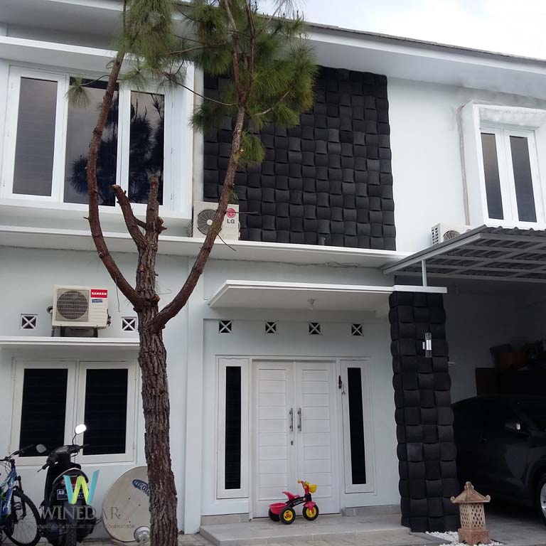 Rumah Desain Modern Minimalis 2 Lantai di Jogja Cipta Arsita Winedar Pemborong Jogja
