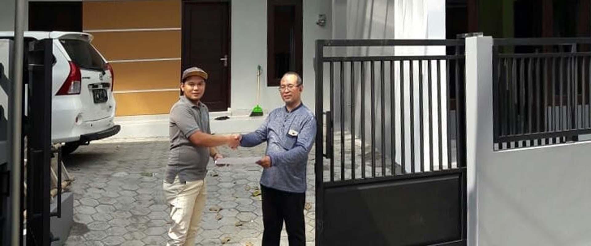 Slider Serah Terima Pembangunan Kos Cipta Arsita Winedar Kontraktor Jogja