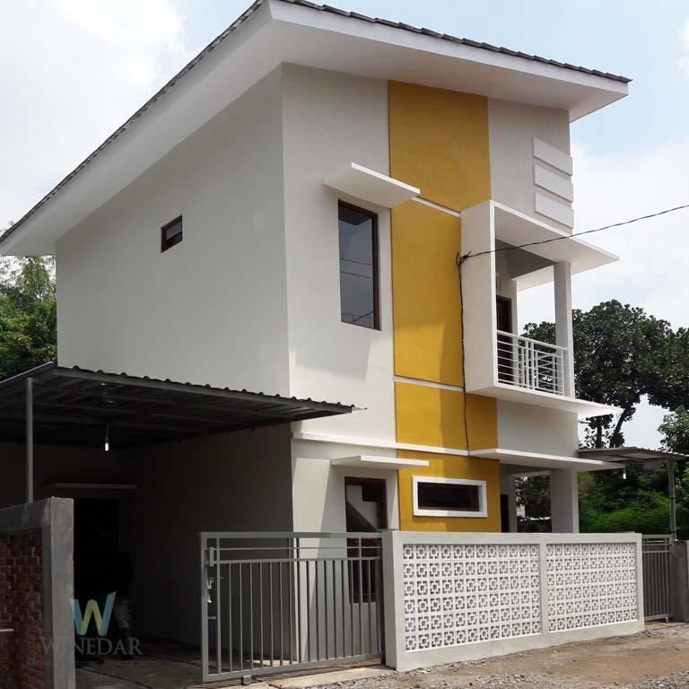 Rumah 2 Lantai di Jogja Desain Modern Minimalis